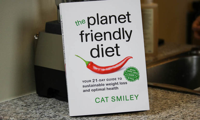 Cat Smiley Canadian cookbook Planet Friendly Diet