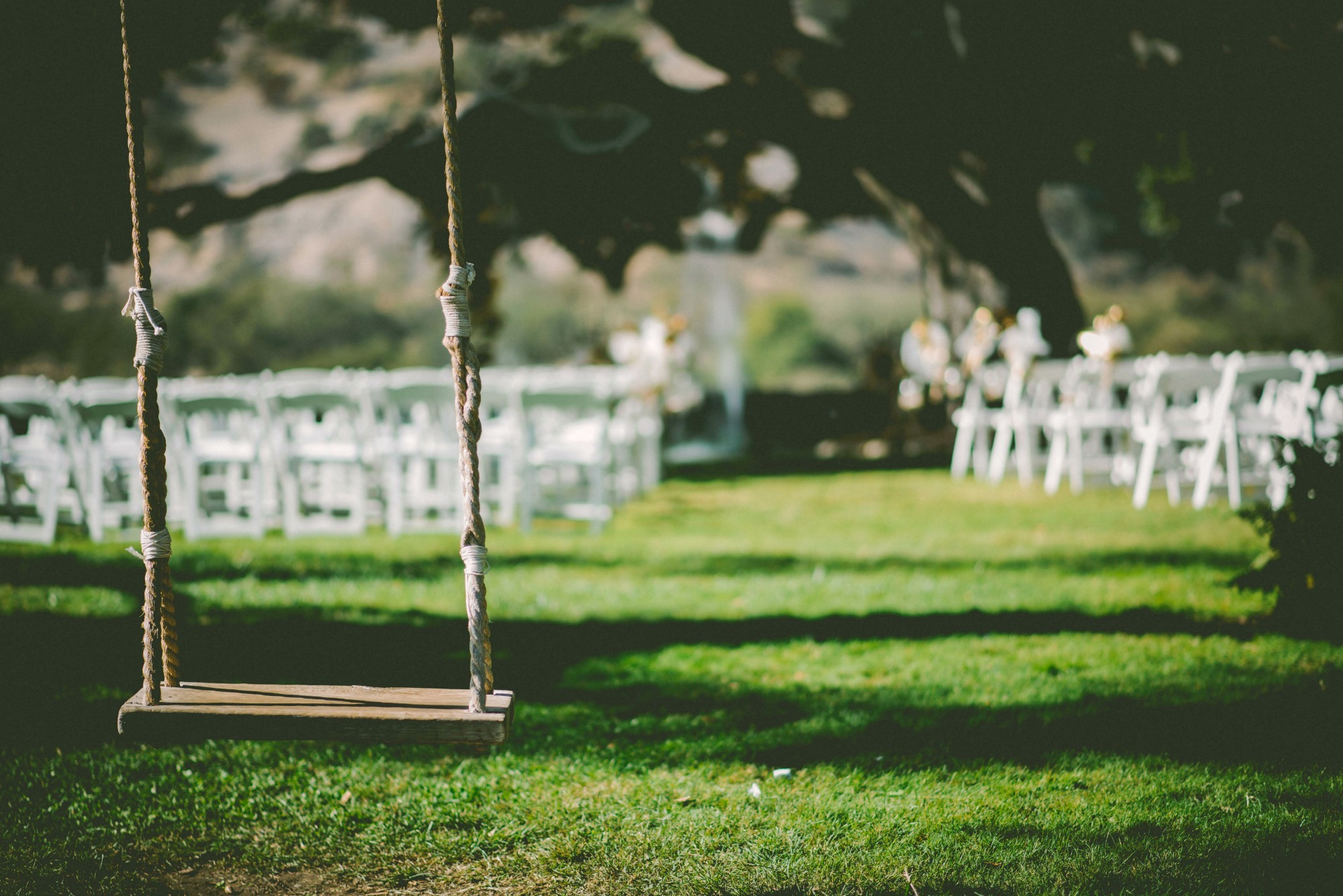 Outdoor Wedding inspiration reception