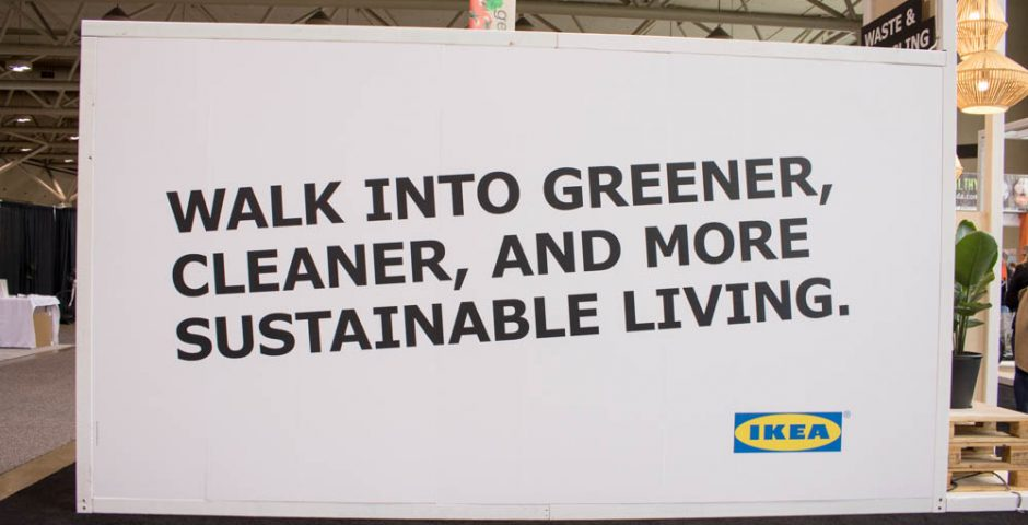 Green Living Show 2017 Metro Convention Centre IKEA Canada Lifestyle Blogger Jennybeaned