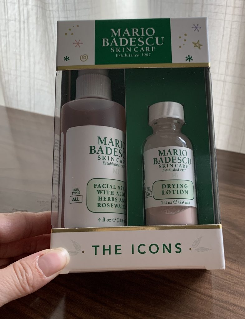 Holiday Gift Ideas, Christmas Gifts Skincare Beauty Lover Mario Badescu Skincare The Icons Set